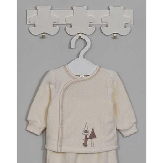 """Šilti marškinėliai kūdikiui """"Tapu Tapu"""" kreminiai VILAURITA 724"""
