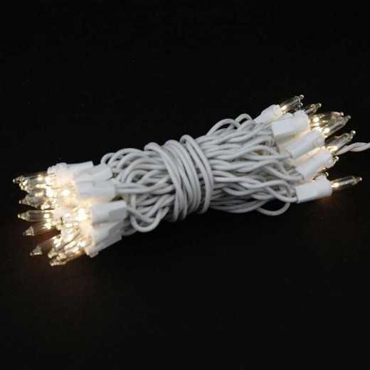 Elektrinė šviečianti girlianda COTTON FAIRY LIGHTS medvilniniams burbulams 35 vnt.
