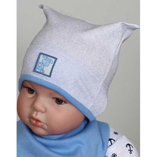 Medvilninė kepurė kūdikiui Pilka VILAURITA 657
