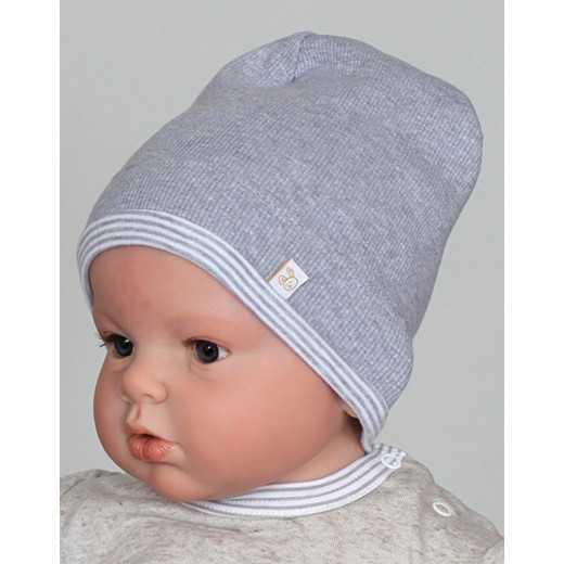 Medvilninė kepurė kūdikiui Pilka VILAURITA 59