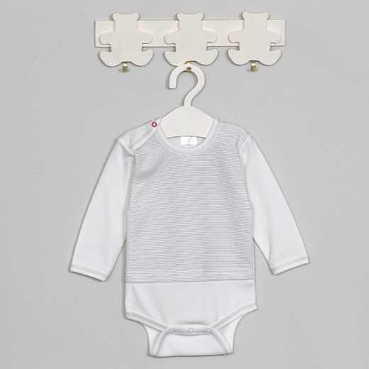 """Šiltas medvilninis smėlinukas kūdikiui """"TITI"""" baltas VILAURITA 691"""