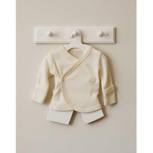 Merino vilnos siaustinukas kūdikiui 50 cm VILAURITA 110