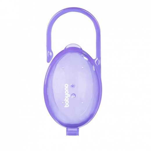 Dėžutė kūdikio čiulptukams violetinė BabyOno 528