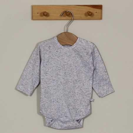"""AKC Medvilninis smėlinukas kūdikiui """"Antari"""" pilkas 68cm VILAURITA 782"""