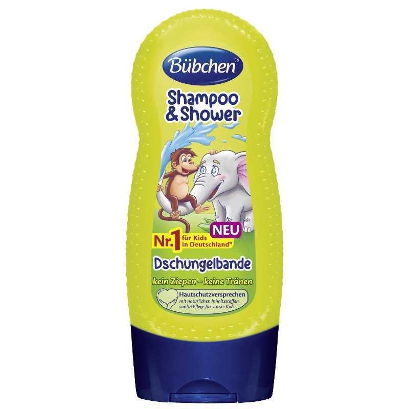 Plaukų šampūnas ir dušo želė viename vaikams  230ml Bubchen 117