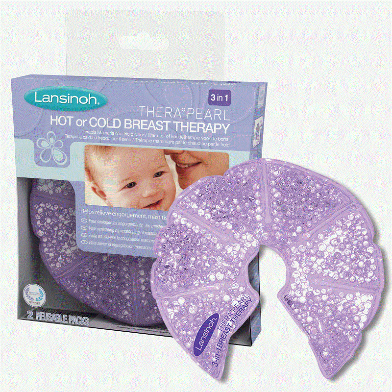 Kompresai krūtims Lansinoh 3-in-1 Therapearl