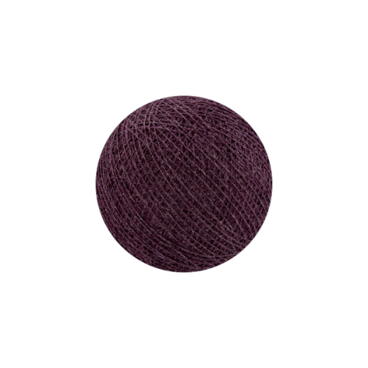 Šviečiančios girliandos medvilninis VYNUOGIŲ burbulas COTTON FAIRY LIGHTS 0007