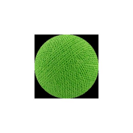 Šviečiančios girliandos medvilninis ŠVIESIAI ŽALIAS burbulas COTTON FAIRY LIGHTS 0012