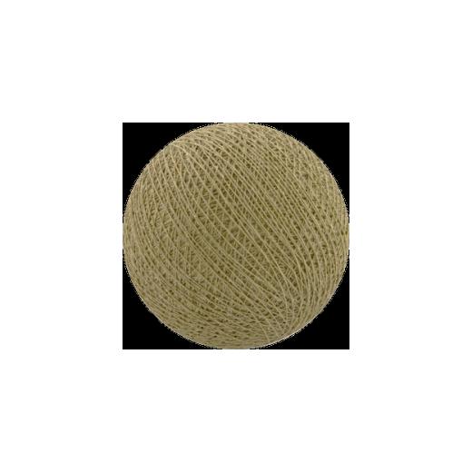 Šviečiančios girliandos medvilninis ŠVIESIAI RUDAS burbulas COTTON FAIRY LIGHTS 0013
