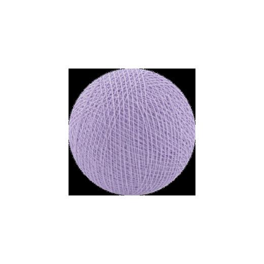 Šviečiančios girliandos medvilninis LEVANDINIS burbulas COTTON FAIRY LIGHTS 0016