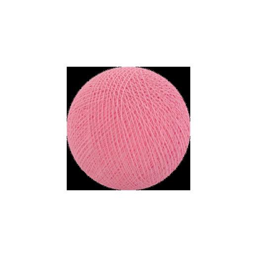 Šviečiančios girliandos medvilninis ŠVIESIAI ROŽINIS burbulas COTTON FAIRY LIGHTS 0027