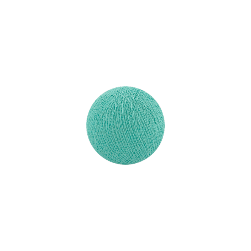 Šviečiančios girliandos medvilninis TURKIO burbulas COTTON FAIRY LIGHTS 0032