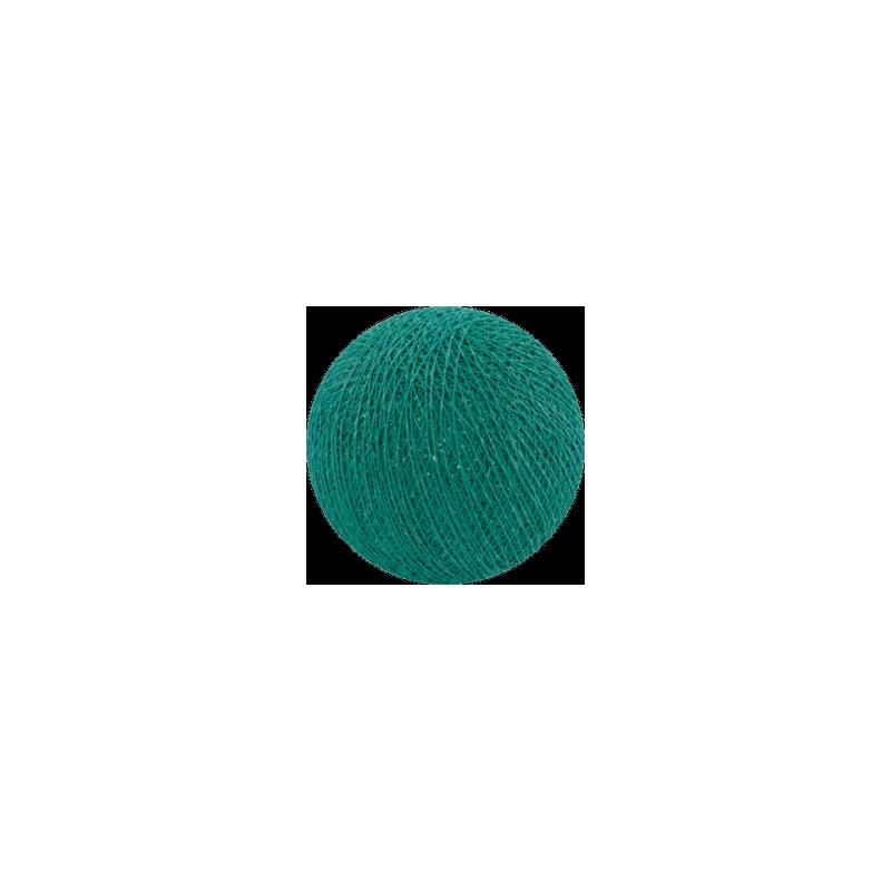 Šviečiančios girliandos medvilninis TAMSUS TURKIO burbulas COTTON FAIRY LIGHTS 0034