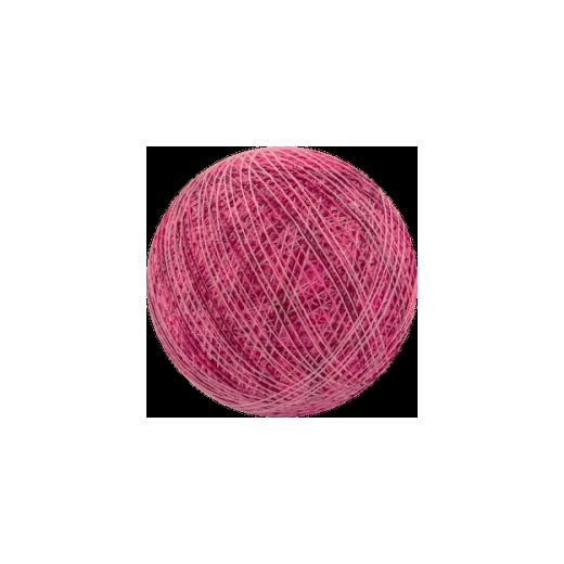 Šviečiančios girliandos medvilninis MIX ROŽINIS burbulas COTTON FAIRY LIGHTS 0041