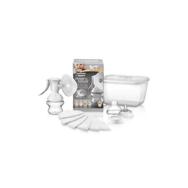 Rankinis pientraukis + sterilizavimo dėžė Tommee Tippee 234155