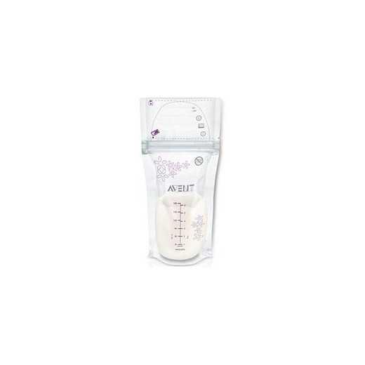 Pieno šaldymo maišeliai AVENT 25 vnt. 603/25