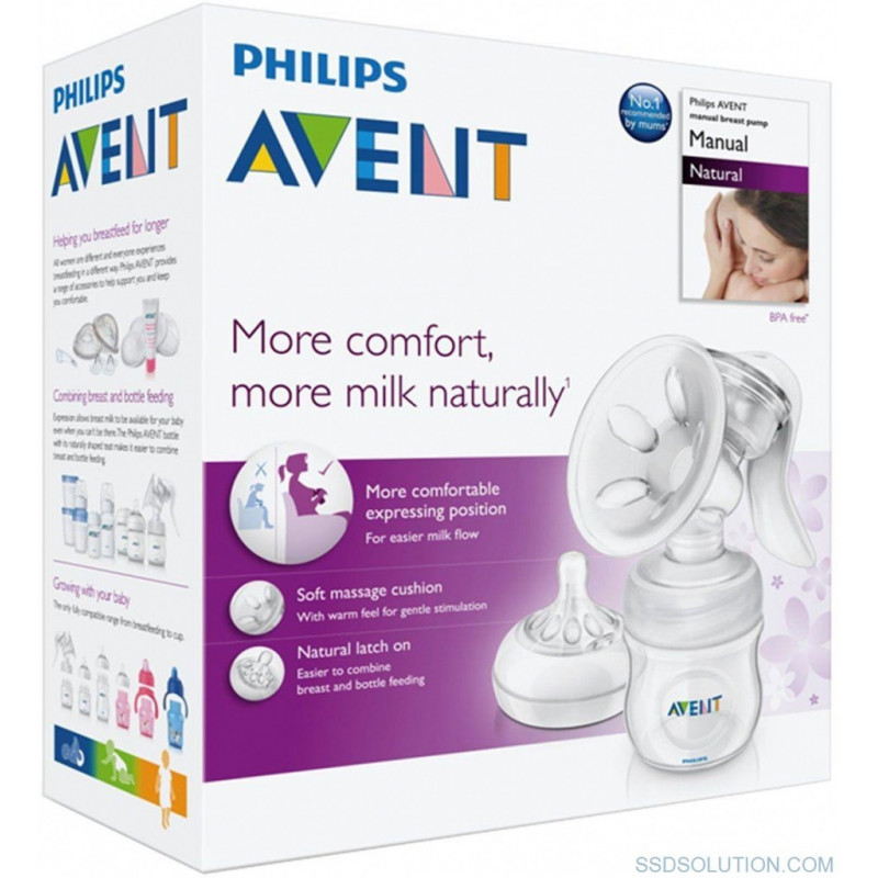 "Rankinis pientraukis AVENT ""Comfort"" NATURAL 330/20"