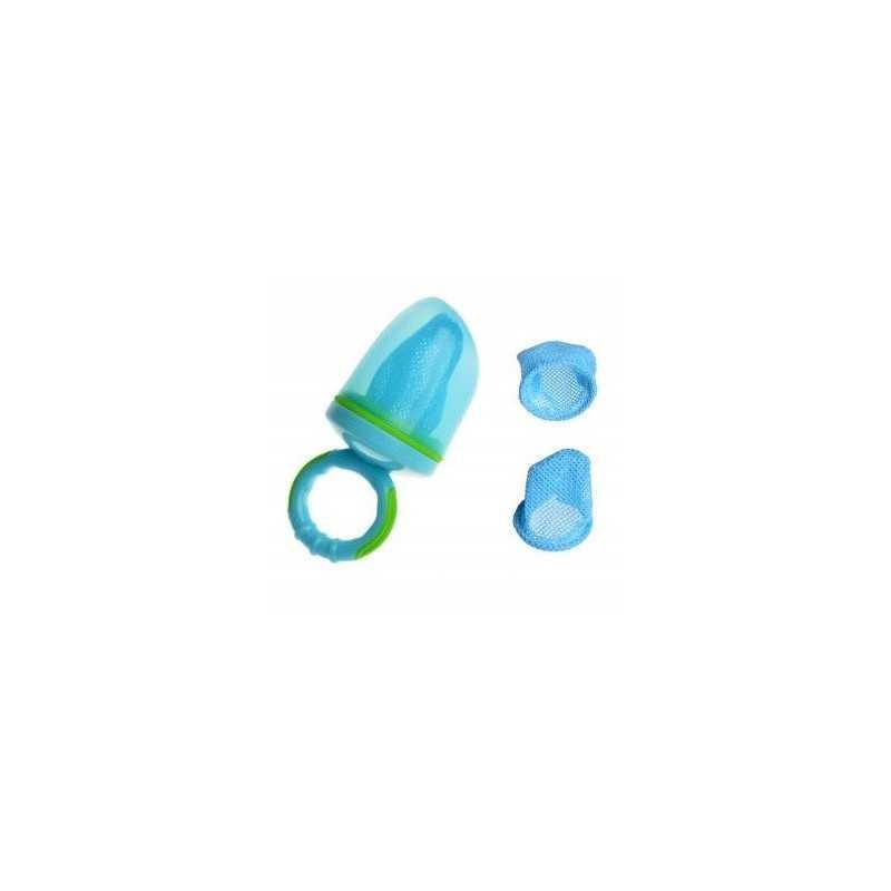 Šviežio, kieto maisto maitintuvas kūdikiui mėlynas AKUKU A0335
