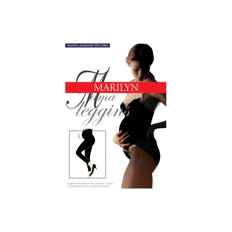 Tamprės juodos nėščiosioms 100den Mama Marilyn