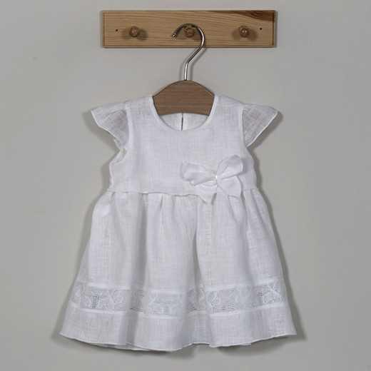 Lininė krikšto suknelė  Vilaurita 383