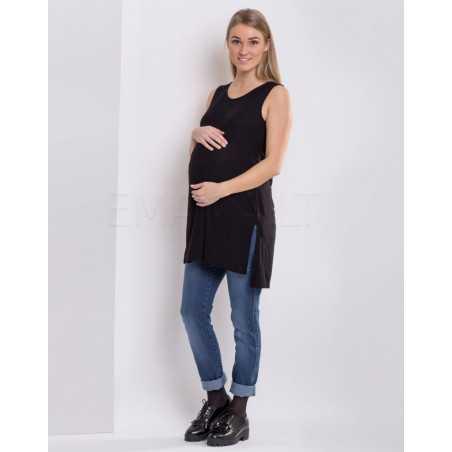 Džinsai nėščiai Branco 2162 Mėlyni