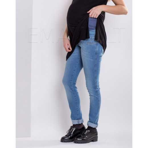 Džinsai nėščiai Branco 2189 Mėlyna