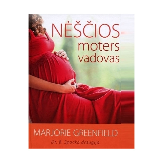 """Knyga Marjorie Greenfield """"Nėščios moters vadovas"""""""