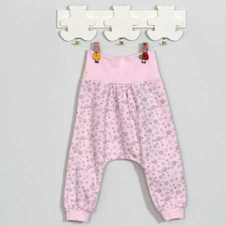 """Šiltos kelnytės kūdikiui """"PIPA"""" rožinės VILAURITA 717"""