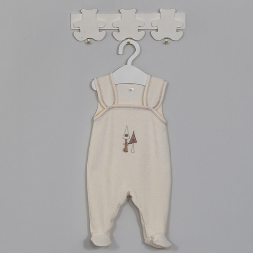 """Šilti šliaužtinukai kūdikiui """"Tapu Tapu"""" kreminiai VILAURITA 648"""