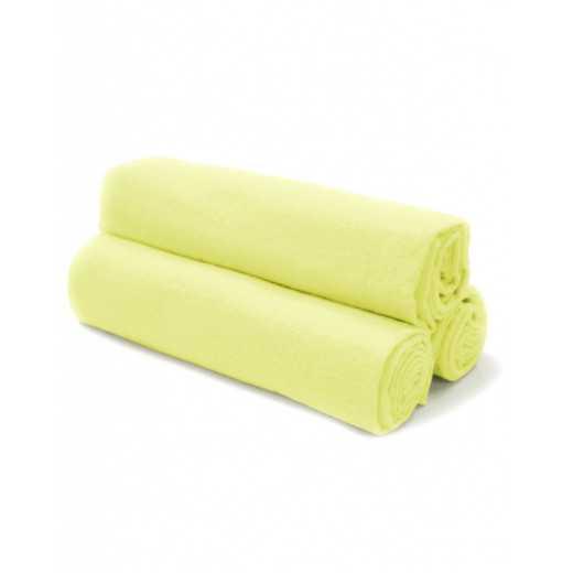 100% medvilnės flanelinis vystyklas 80x70cm geltonas 1 vnt. V1001