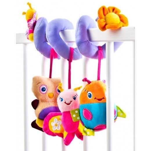 Lavinamasis žaislas kūdikiui Spiralė 0+ Sensillo 24204