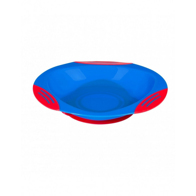 Lėkštė limpančiu dugnu 6m+ BabyOno 1020 Mėlyna