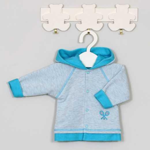 """Džemperis kūdikiui """"Tennis"""" mėlynas Vilaurita 522B"""