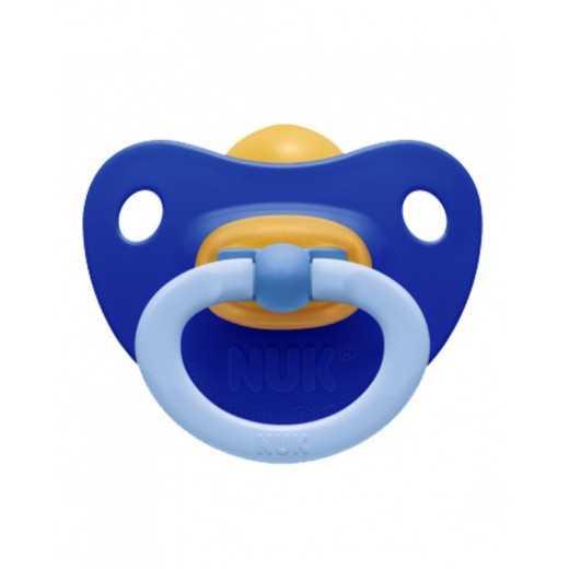 Ortodontinis čiulptukas  0-6m NUK mėlynas