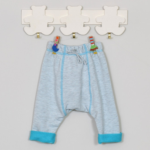 """Mėlynos kelnytės kūdikiui """"Tennis""""  Vilaurita 521B"""