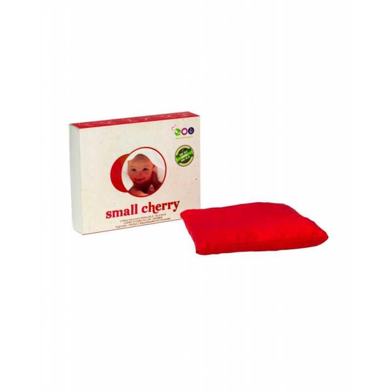 Vyšnių kauliukų pagalvėlė-šildyklė SMALL CHERRY