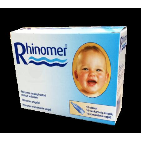 Rhinomer nosies gleivių aspiratoriaus antgaliai, N10