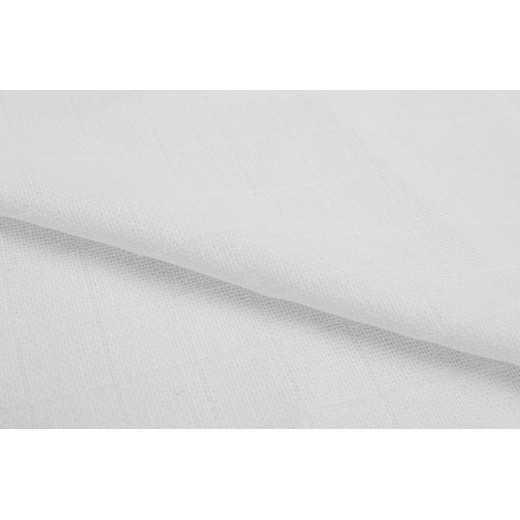 Medvilninis marlinis vystyklas kūdikiui baltas 80x80cm SENSILLO LUX