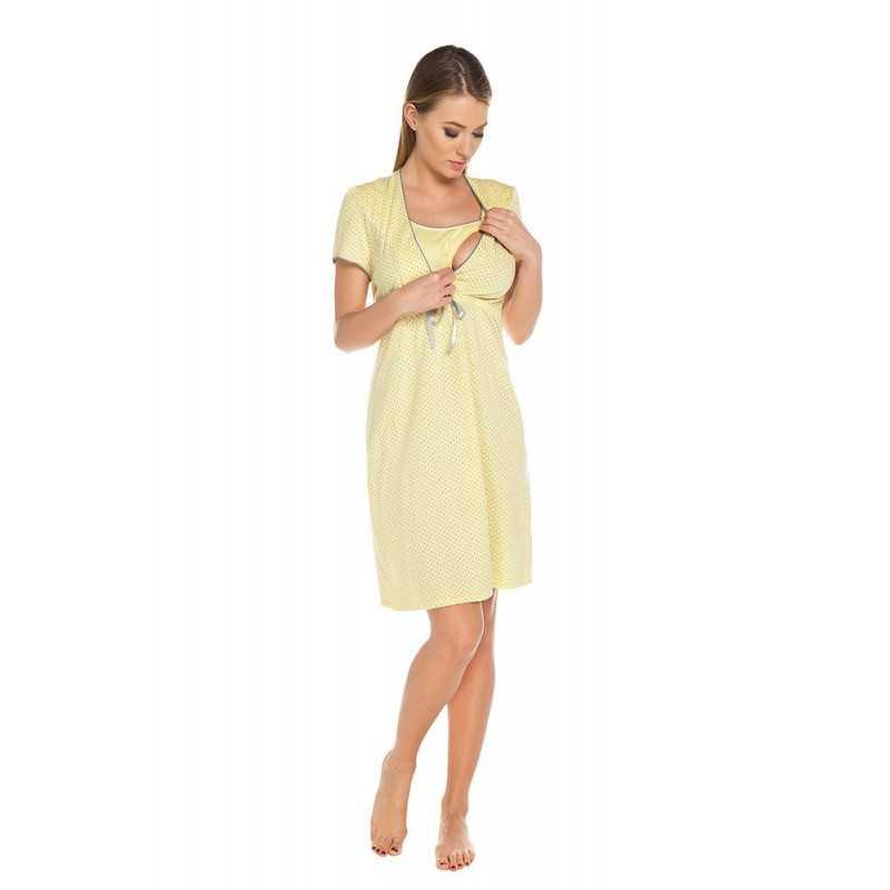 Naktiniai maitinančiai Italian Fashion FELICITA geltona