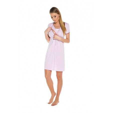 Naktiniai maitinančiai Italian Fashion FELICITA šviesiai rožiniai