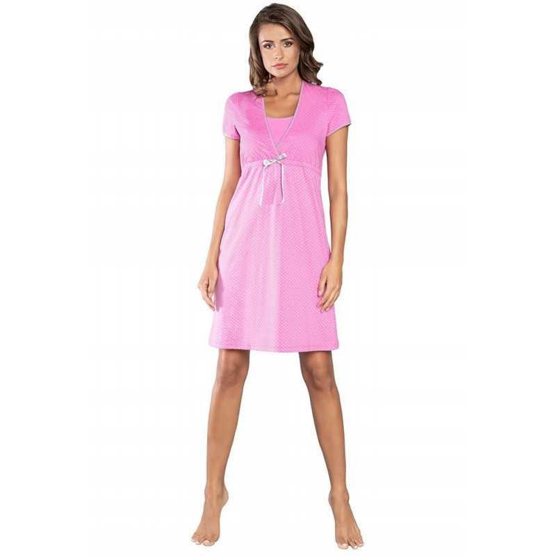 Naktiniai maitinančiai Italian Fashion FELICITA rožinė