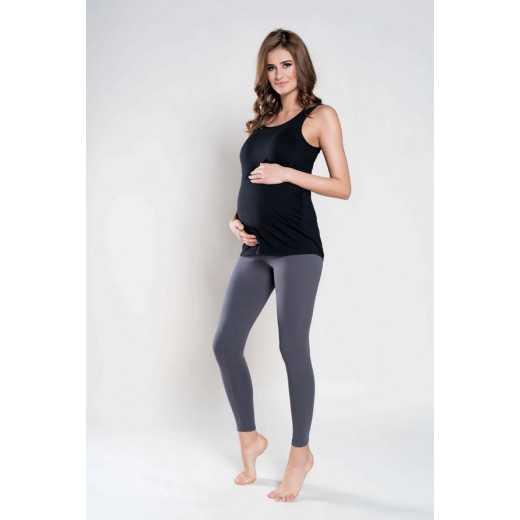 Marškinėliai nėščiosioms ITALIAN FASHION juodos spalvos