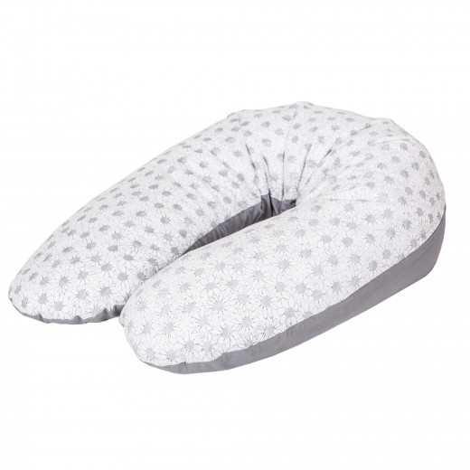 Miegojimo ir maitinimo pagalvė nėščiosioms MULTI gėlytės CebaBaby
