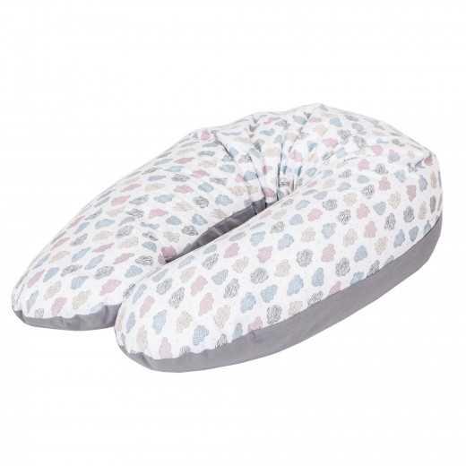 Miegojimo ir maitinimo pagalvė nėščiosioms DEBESĖLIAI CebaBaby