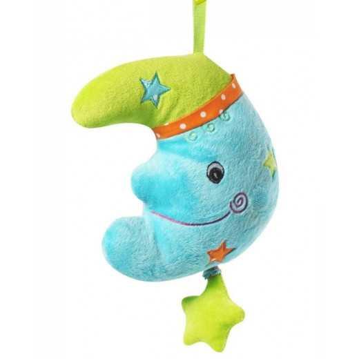 Žaislas kūdikiui su melodija Mėnulis BabyOno 1116